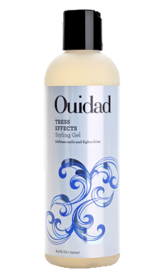 Ouidad Tress Effects Lightweight Styling Gel Controls Frizz & Flyaways on Curly Hair 