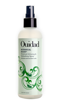 Ouidad Botanical Boost Moisture Infusing & Refreshing Spray for Nourishing and Rejuvenating Curly Hair