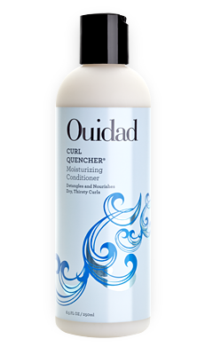Ouidad Curl Quencher Moisturizing Conditioner for Dry, Thirsty Curly Hair