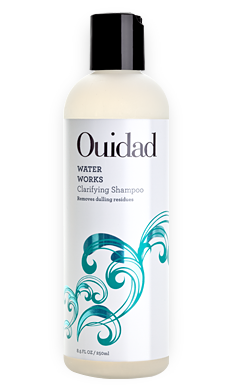 Ouidad Water Works Shampoo for Removing Chlorine and Restoring Curly Hair Damaged by Hard Water