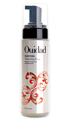 Ouidad PlayCurl Volumizing Foam for Moisturizing Limp, Flat Curly Hair