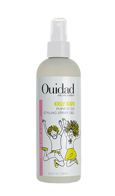 Ouidad KRLY Pump & Go Spray Styling Gel for Kids with Curly Hair