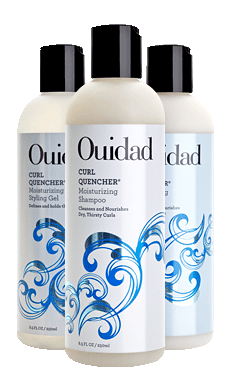 Ouidad Curl Quencher Collection For Moisturizing Dry, Thirsty Curly Hair