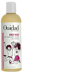 Ouidad KRLY No Time For Tears Gentle Shampoo for Kids with Curly Hair